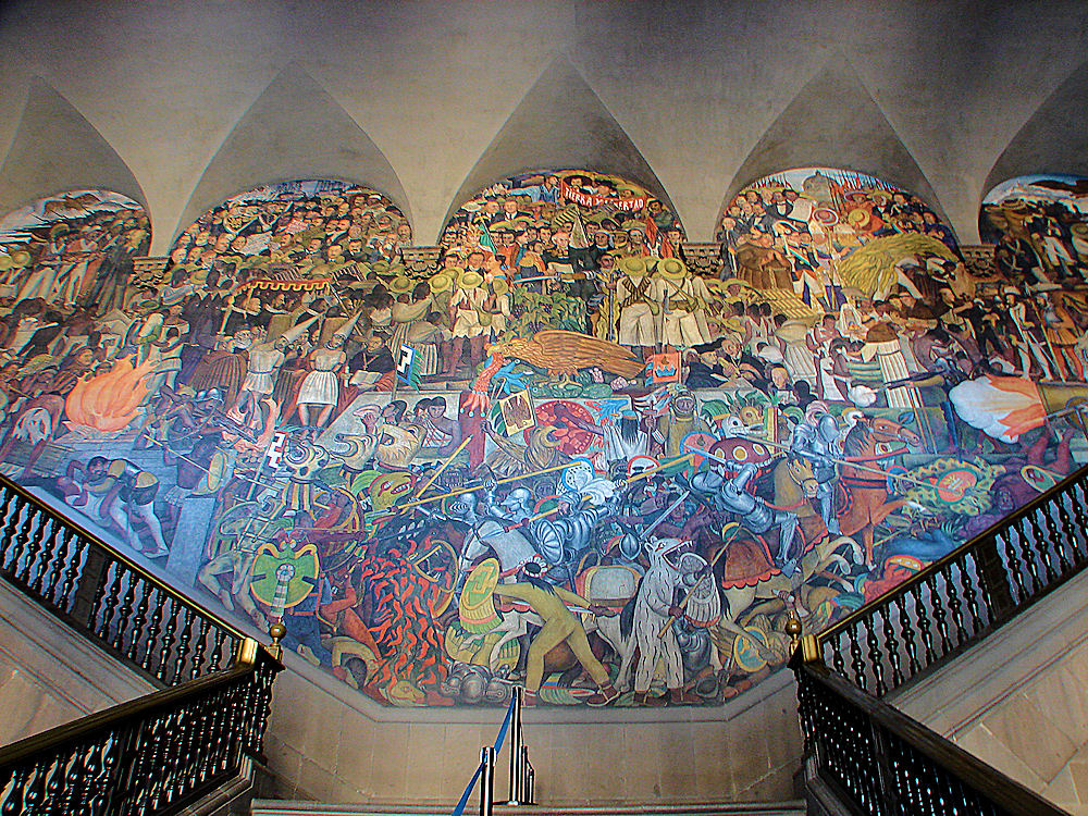 Finding a social message in music seth boustead for Diego rivera mural chicago
